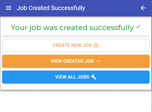 Manager App – Create Jobs and View Your Own Jobs Only